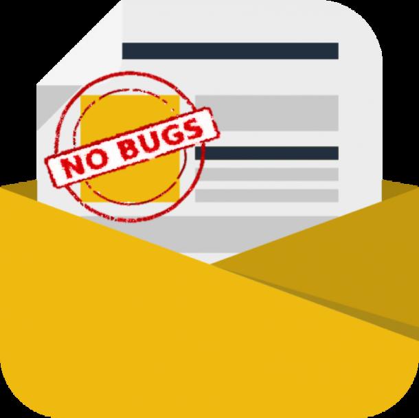 no bug news