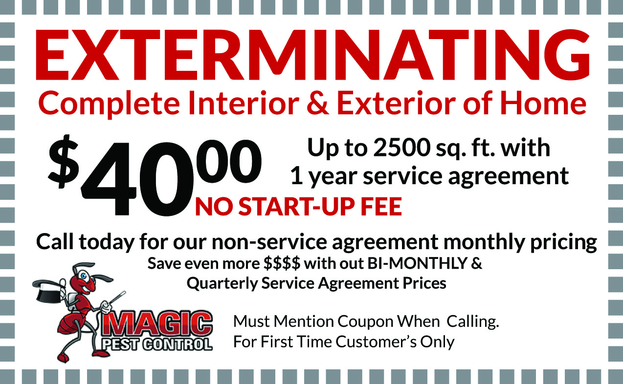 Exterminating Complete Interior & Exterior of Home