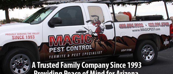 magic pest truck